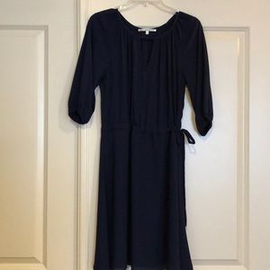 Navy Blue Collective Concepts dress.